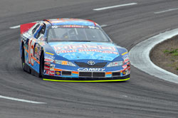 NASCAR K&N Pro series west driver Moses Smith