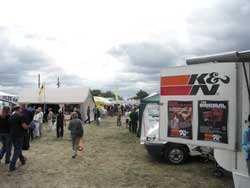 Crowds visit K&N Booth at Western Motorhome Show