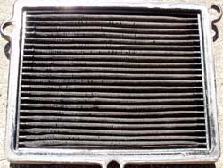 Clean Side of Dean Zinter's K&N Air Filter