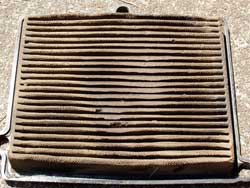 Dirty Side of Dean Zinter's K&N Air Filter