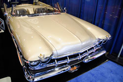 SEMA displayed Pfaff Designs 1959 Chrysler Imperial with modified Viper rear end