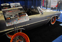 Highly custom 1959 Chrysler Imperial attracted much attention at SEMA
