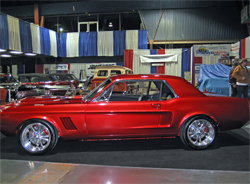 1967 Mustang rebuilt by GT Motorsports in Modesto, California