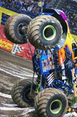 Ford Powered K&N Black Stallion pulls out all the stops at Monster Jam