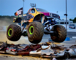 Racing Action puts Monster Trucks to the test in West Virginia, photo by Matt Rowland