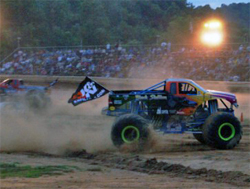 K&N Ford Powered Black Stallion takes on the Monster Truck competition, photo by Matt Rowland
