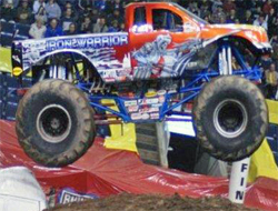 Trey Myers drives Iron Warrior in Bridgeport, Connecticut