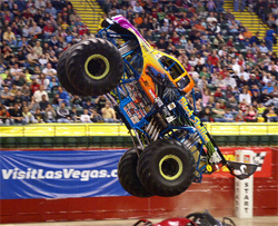 The K&N Ford Powered Black Stallion driven and owned by Monster Jam veteran Michael Vaters