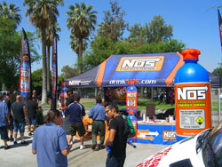 NASCAR K&N Pro Series Employee Day NOS Booth