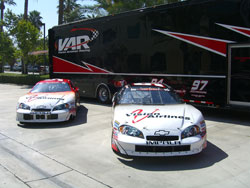 NASCAR K&N Pro Series Justin Johnson and Dusty Davis