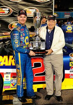 NASCAR K&N Pro Series West Racer Eric Holmes and Lloyd Dane