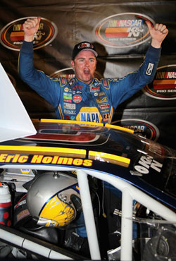 Eric Holmes wins NASCAR K&N Pro Series West race at Colorado National Speedway