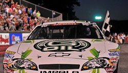 K&N's production air filters are reusable, supporting NASCAR's Green initiatives. Jason Smith/pixelcrisp for NASCAR.