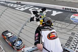 Nelson Piquet Jr. winning the first NASCAR K&N Pro Series East race of the season