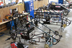 The Speedline Racing team has been working on a wingless sprint car to add to its collection of race cars.