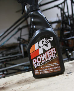 Nick Davis is a big supporter of K&N Products.