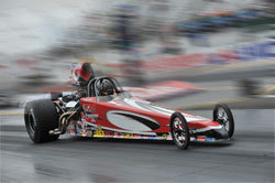 Nick Folk's Super Comp American Dragster