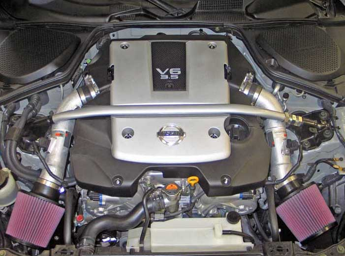 2007 And 2008 Nissan 350Z Gains Estimated 8.17 Horsepower With Ku0026N  Performance Air Intake System