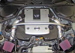 Air intake system installed in 2007 Nissan 350Z 3.5 liter V6 engine