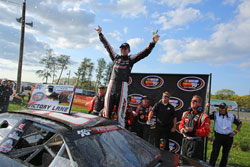Michael Self wins at Brainerd International Raceway in NAPA Know How 125