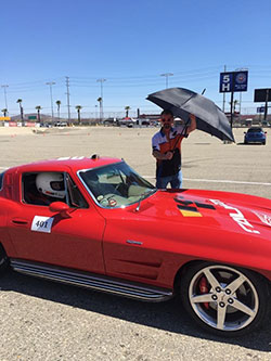 Will Baty from Centerforce Performance Clutches at Hotchkis Cup Autocross Challenge