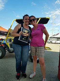 Brandy Phillips at Hotchkis Cup Autocross Challenge
