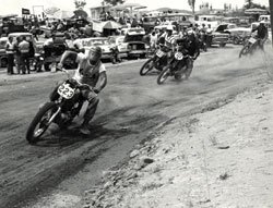 Norm McDonald continued to race motorcycles all through the 1970's, competing in desert Hare and Hounds, endurance events, scrambles, TT and some flat track.