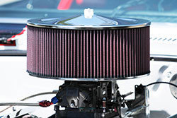 Paul Summers 1972 Chevy Nova with LS7 and E-3770 6x14-inch round K&N air filter air cleaner