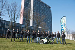 For the student based Nova Bike Race team at Delft University of Technology, building a bio-fuel motorcycle is nothing short of rocket science.