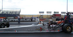 The win last weekend at Bandimere Speedway was Oenes second in two months.