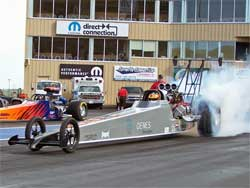 David Oenes 2006 Dragster