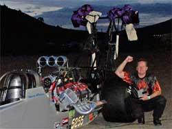 David Oenes won FAST 16 at Bandimere Speedway