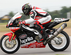 Aaron Gobert is Newest Rider on The Factory Aprilia Millennium Technologies Team