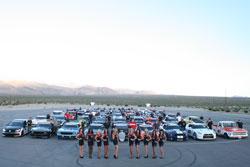 2012 OPTIMA® Batteries Ultimate Street Car Invitational Competitors.