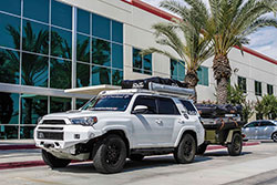 Team Overland 2016 Toyota 4Runner equipped with K&N 63-9034 intake ki