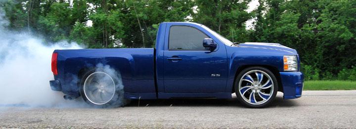 2008 Chevy Silverado Burnout
