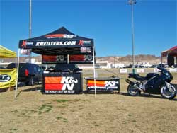 K&N setup at Twentynine Palms