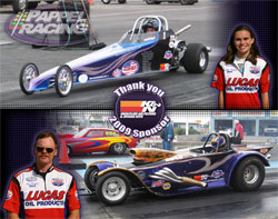 In 2009 Rochelle Papplel finished top three at Champion Raceway and Ron Pappel finished 3rd overall in Super Pro.