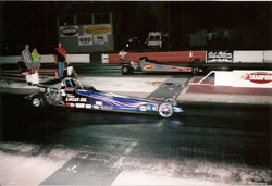 Rochelle raced her K&N sponsored half-scale dragster in the Junior Lightning Class and won the 2010 NHRA Oregon State Championship.