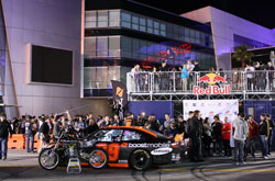 Michael Waltrip, Boost Mobile and Red Bull Sponsored No. 99 Toyota