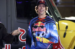 Pastrana-Waltrip Racing's Travis Pastrana