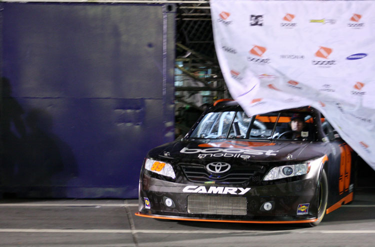 Unveiling of Pastrana-Waltrip Racing's No. 99 Toyota