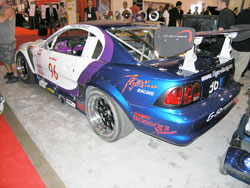 Tiger Racing's Ford Mustang GT