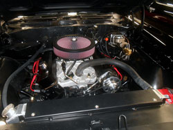 K&N Air Cleaner Assembly and Engine of Major Jeffrey Calero's Pontiac GTO