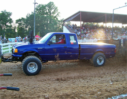 Jonathon Payne leads the points in the Lucas Oil Pro Pulling League Pro Stock 4X4 Class