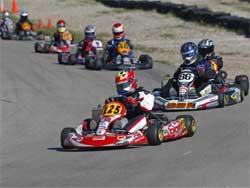 Jacob Pearlman at X-Plex kart track in Las Vegas, Nevada, photo courtesy of Sean Burr, GoRacing Magazine