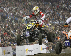 Richard Pelchat competed in 21 ATV races in 2009 and logged around 41,000 miles on the racing circuit