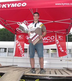 2009 Canadian Cup winner Richard Pelchat will defend his ATV racing title in 2010