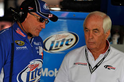 Roger Penske has been racing and winning in the United States since 1958