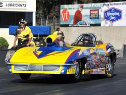 Peter Biondo's Super Gas 1963 Chevy Corvette Roadster
